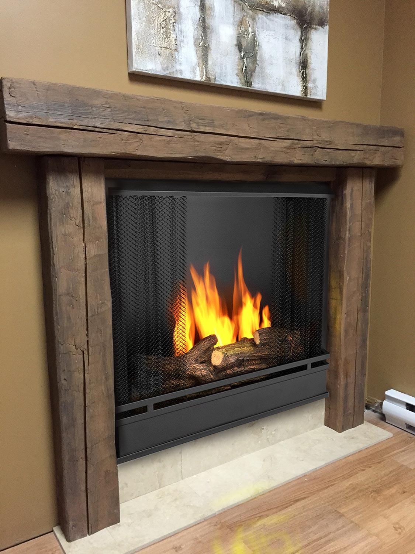 manteau de foyer en pierre poncer le manteau de sa chemine comment dcorer son manteau de. Black Bedroom Furniture Sets. Home Design Ideas
